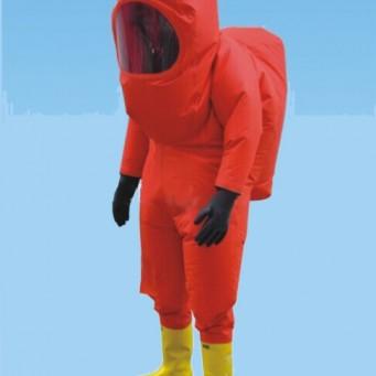 重型防化服(全封闭防化服、消防员一级化学防护服装)
